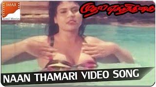 Naan Thamari Video Song || Mudhal Echarikkai Movie || Ponambalam, Visithra || South Video Songs