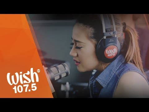 "Morissette covers ""Against All Odds"" (Mariah Carey) on Wish 107.5 Bus"
