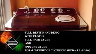 (FULL DEMO) LG P1515R3SA 9.5 kg Semi-automatic Top-loading Washing Machine