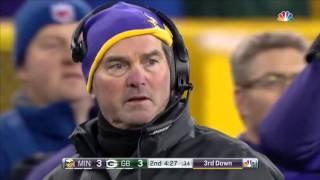 NFL 2016 01 03 Vikings vs Packers   Condensed Game