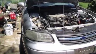 Chevy Malibu Automatic Transmission Fluid Check (Where is the dipstick)