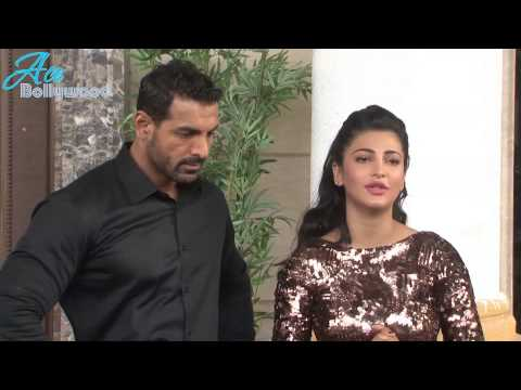 Hot Shruti Hassan and John Abraham shooting for Welcome back promo song