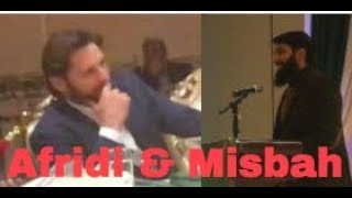 Misbah Ul Haq Speech On Why People Love Afridi | Funny Q&A | Chicago | Shahid Afridi Foundation
