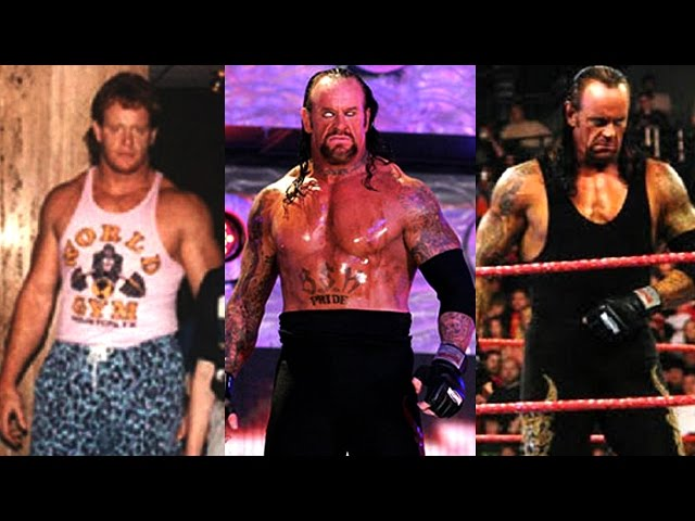 The Undertaker - Transformation From 11 To 52 Years Old
