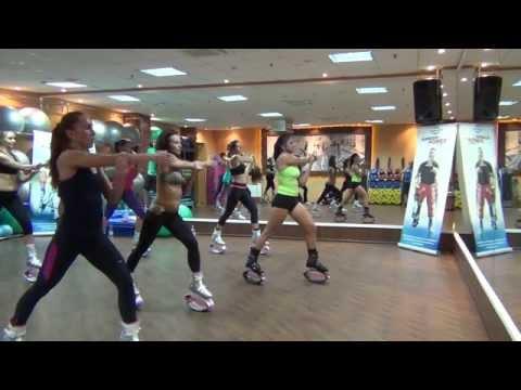 Мастер класс между� арод� ого тре� ера Kangoo Jumps fitness programs Софии Плато� овой