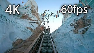 Expedition Everest front seat on-ride 4K POV @60fps Disney