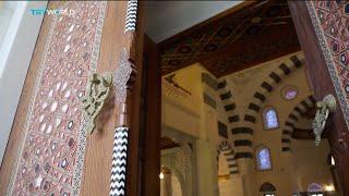 Turkish President Erdogan opens the largest mosque complex in US, Kilmeny Duchardt reports