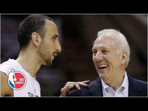 Manu Ginobili memories Gregg Popovich Steve Kerr more Spurs share best moments NBA on ESPN