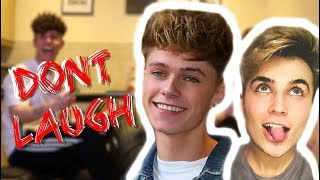 TRY NOT TO LAUGH *CHALLENGE* ft HRVY
