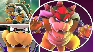 Super Mario Odyssey All Main Story Bosses & Ending (No Damage) | Mario Vs All Bowser Battles
