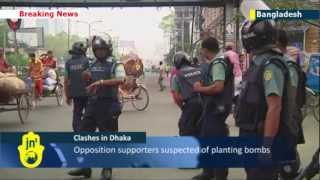 Bangladesh crisis: Bombs go off in capital during nationwide strike called by Islamists