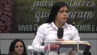 Missionária Adriane Medeiros -  Tema: 3 Coisas Que Deus Não Vê