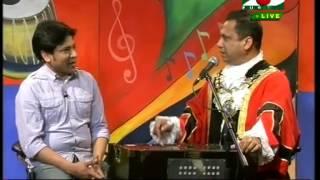 A100 BANGLA SONG/ RAJIB AHMED/ LIVE CHANNEL I / GANER BHUBON PRESENTER SHAMSU ZAKI SHOPON