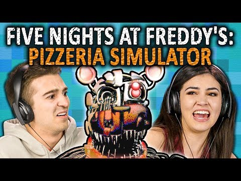 FIVE NIGHTS AT FREDDY S PIZZERIA SIMULATOR FNAF 6 React Gaming