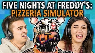 FIVE NIGHTS AT FREDDY'S: PIZZERIA SIMULATOR | FNAF 6 (React: Gaming)