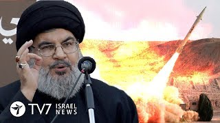 """Hezbollah: Decision on war with Israel can be made """"at any moment"""" - TV7 Israel News 28.01.19"""