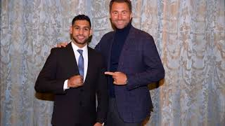 (WOAH) Amir Khan signs with Eddie Hearn, Kell Brook Fight a must for 2018!!!