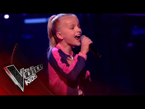 Xxx Mp4 Lilia Performs I Wanna Dance With Somebody The Semi Final The Voice Kids UK 2018 3gp Sex