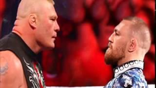 Brock Lesnar vs Conor Mcgregor   I Quit Match   Wrestlemania XXXIII 2017   Custom