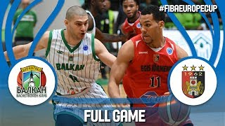 BC Balkan (BUL) v Egis Körmend (HUN) - Full Game - FIBA Europe Cup 2017-18