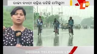 Heavy rainfall forecast for Odisha