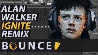 Alan Walker & K-391 ► Ignite (Bounce Remix) // FL STUDIO // Free Download