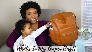 What's In My Diaper Bag?   First Time Mom!!