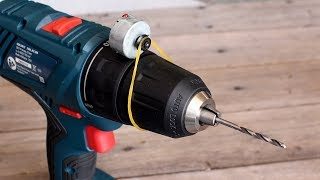 15 Awesome Life Hacks for Drill Machine