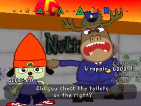 Parappa the Rapper Bathroom Rap