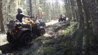 ATV offroad adventure and camping.