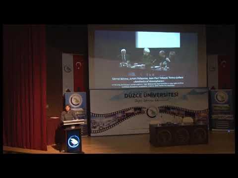 Düzce Üniversitesi Çağdaş Sanat Neyi Anlatır Konferansı 2018