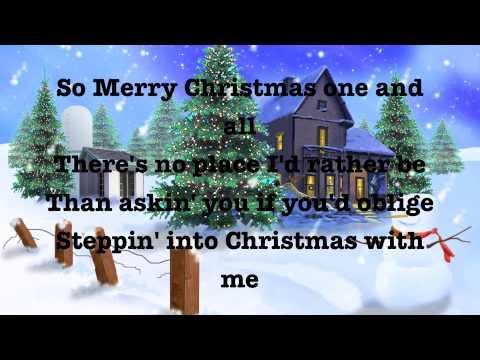 Step Into Christmas Lyrics