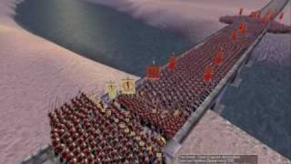300 Spartans Vs 3000 Romans