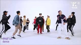 Block B 'Shall We Dance' Mirrored Slowed Dance Performance