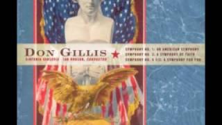 DON GILLIS: Symphony No. 2 (
