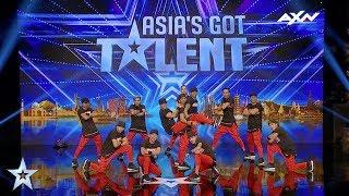 URBAN CREW Judges' Audition Epi 3 Highlights | Asia's Got Talent 2017