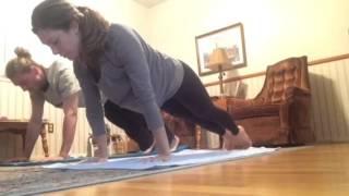 1st half of yoga practice