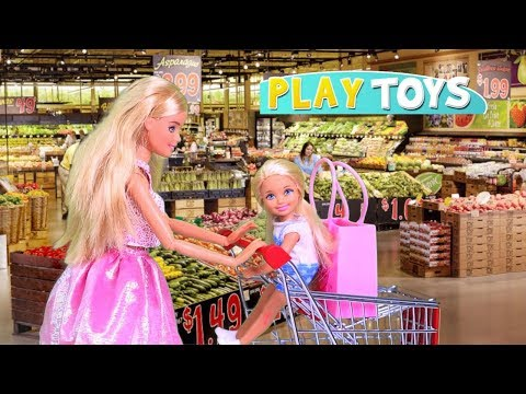 Xxx Mp4 Play Barbie Doll Supermarket Shopping Toys With Baby Doll 🎀 3gp Sex
