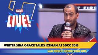 Iceman Writer Sina Grace Live at SDCC 2018