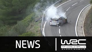 WRC News - RallyRACC - Rally de España 2015: Power Stage/ Ogier CRASH