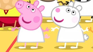 Peppa Pig English Episodes | Peppa Pig And Suzy Sheep | 2 hour Special | Peppa Pig Official