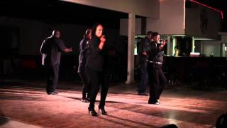 The Chi-Lites featuring Marshall Thompson OFFICIAL Hot on a Thing Line Dance