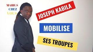 JOSEPH KABILA MOBILISE SES TROUPES A KINGAKATI