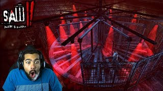 JIGSAW'S SPINNING DEATH CHAMBER!!   Saw II: Flesh and Blood   #15