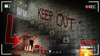 Do NOT ENTER THIS BASEMENT AT 3AM! (Minecraft Secret Recording)