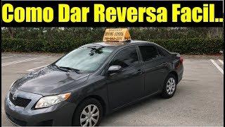 COMO DAR REVERSA FACIL EN CARRO AUTOMATICO/MARCHA ATRAS/ manejo manejar aprender a conducir