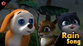 RAIN SONG ♥ Malayalam nursery rhymes ★ from malayalam cartoon Pupy III HD