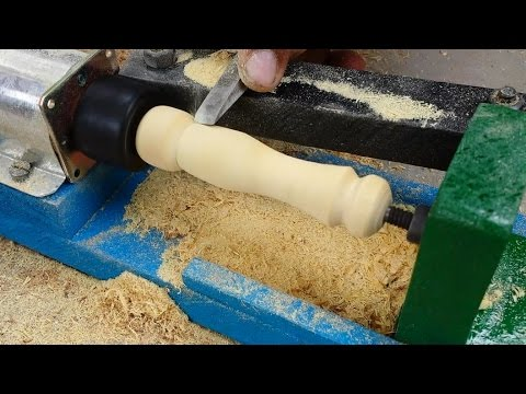 How to Make a Mini LATHE MACHINE at Home Very Easy