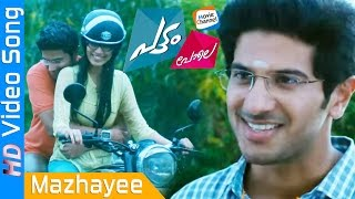 Mazhaye Thoomazhaye | PATTAM POLE | Latest Malayalam Movie Video Song | Dulquer | M Jayachandran