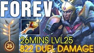 FoREv Legion Commander - 26Min Lvl25 - 822 Duel Damage - Divine Rapier - Dota 2 7.00